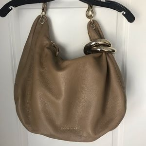 Jimmy Choo Sky Bangle Hobo Bag